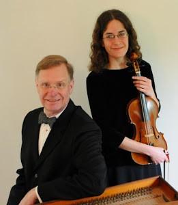 Ensemble SDG - Harpsichordist John Chappell Stowe and violinist Edith Hines