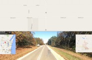 Streetview shows Cty EE does not have paved shoulders in the area near the crash.