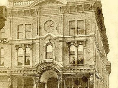Yesterday's Milwaukee: Chapman's Second Store, 1870s