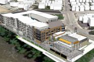 Rendering of proposed mixed-use development by Wangard Partners for 1701 N. Water St.