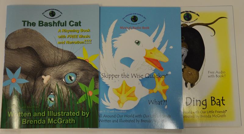 Three of McGrath's books