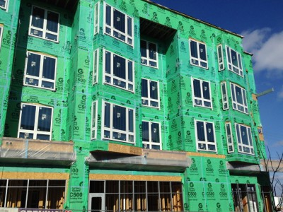Friday Photos: Progress on Frederick Lofts