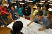 Students at MPS' Milwaukee Spanish Immersion School. Photo courtesy of MPS.