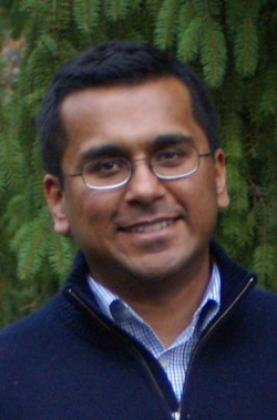 Shantanu Singh, founder of the Vacant Voices mobile app. (Photo courtesy of Shantanu Singh)