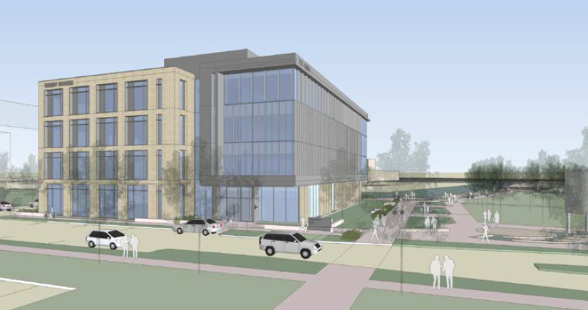 Rendering of Water Tech One.