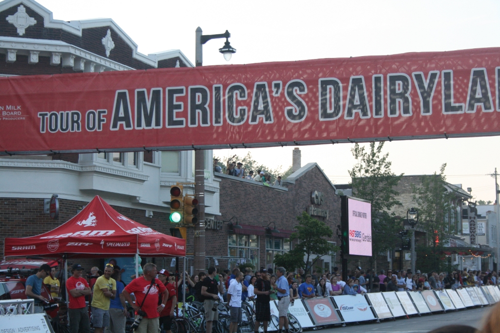 The Tour of America's Dairyland wants to bring a bike race to Bay View. Photo by Jeramey Jannene.