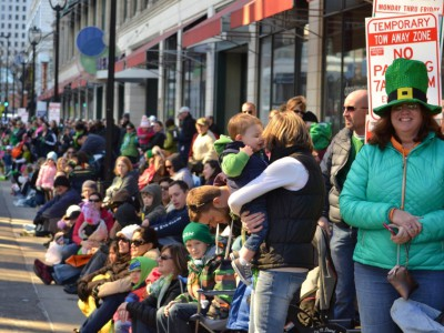 St. Patrick's Parade Returns to Downtown Milwaukee on Saturday, March 11th