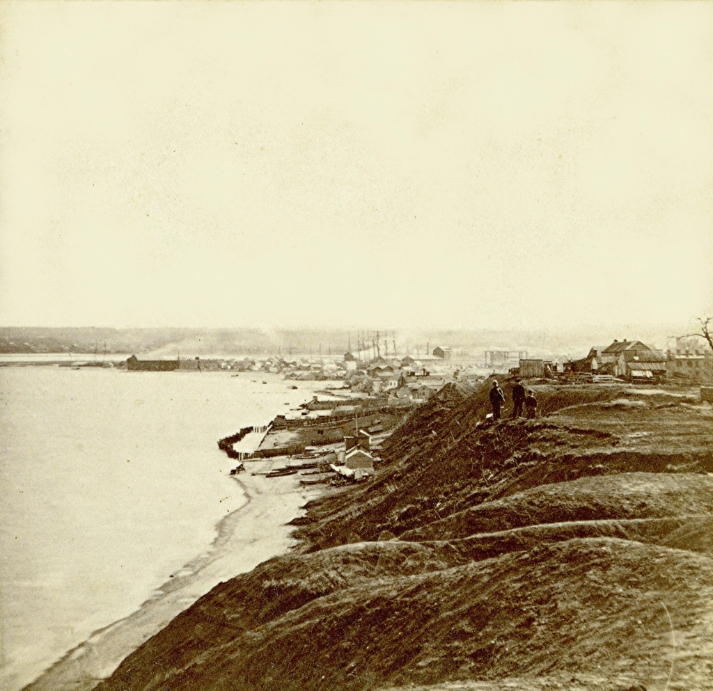 Lakefront, About 1866. Image courtesy of Jeff Beutner.
