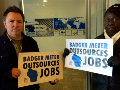 Walker Signs So-Called Right to Work at Outsourcing Multinational Corporation