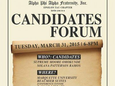 Alpha Phi Alpha Fraternity, Inc.: Candidate Forum for District 10 Election