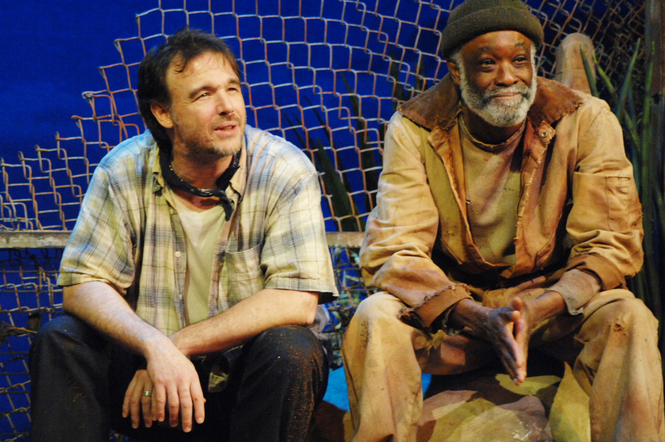 THE TRAIN DRIVER, by Athol Fugard, Feb. 25 – March 15, 2015. Photo by Lila Aryan.