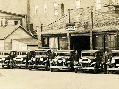 Yesterday's Milwaukee: Badger Cab Co., 1926