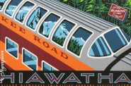Olympian Hiawatha, 1994 by John T. McCarthy, Jr. From The Milwaukee Road Collection – Milwaukee Public Library.