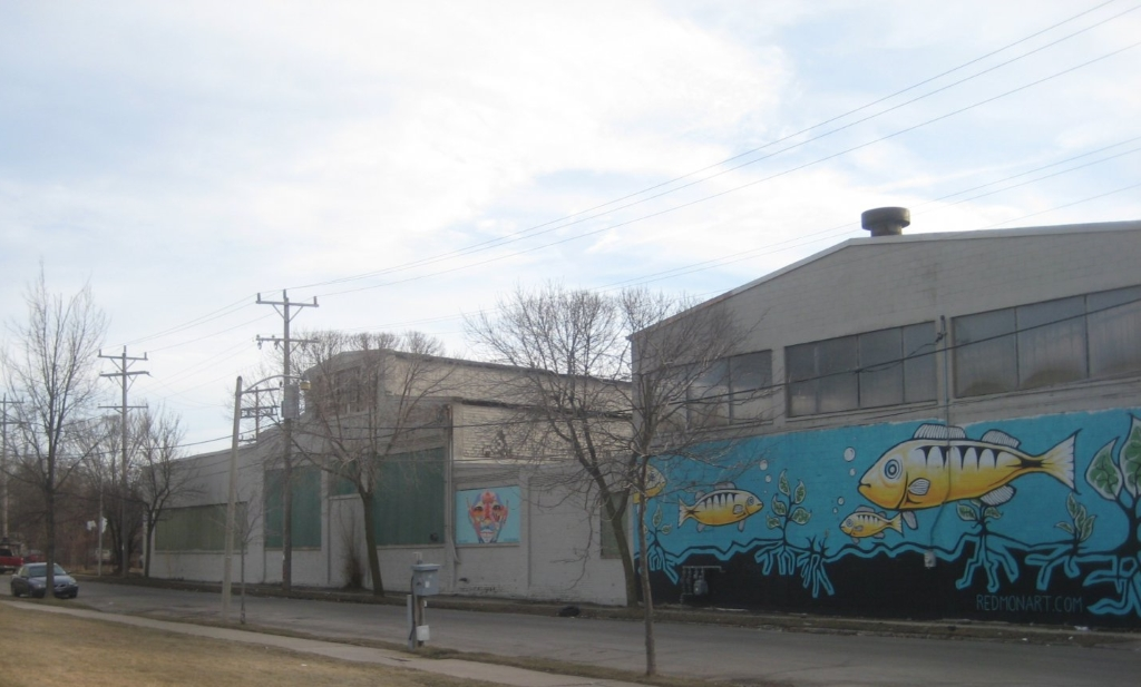 Former Sweet Water Organics location. Photo by Michael Horne.