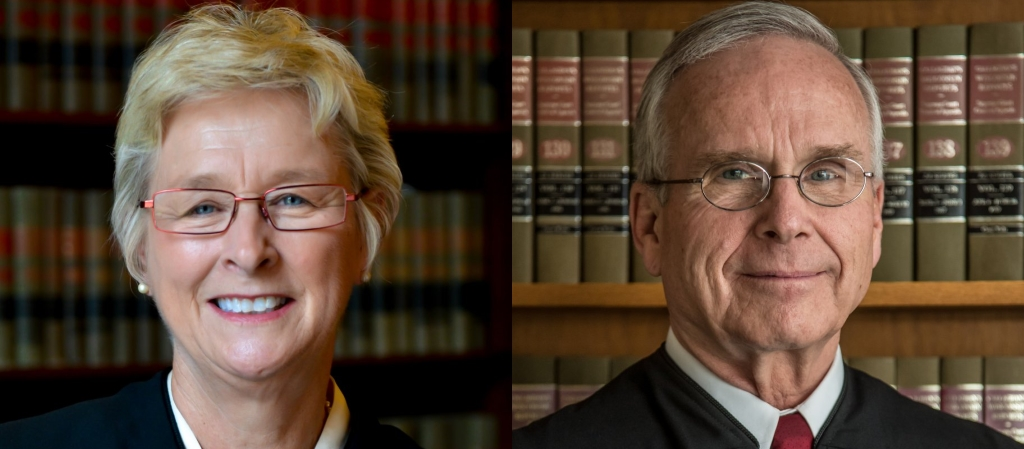 Supreme Court Justice Ann Walsh Bradley, and Rock County Circuit Court Judge James Daley.