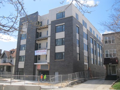 Friday Photos: East Side Apartments Nearly Complete