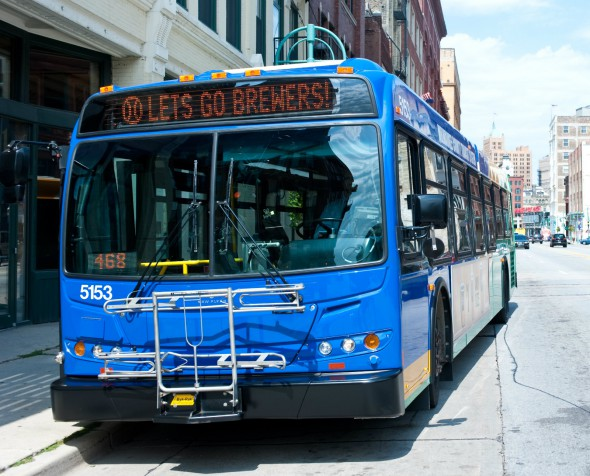 Go Brewers. Photo courtesy of MCTS.