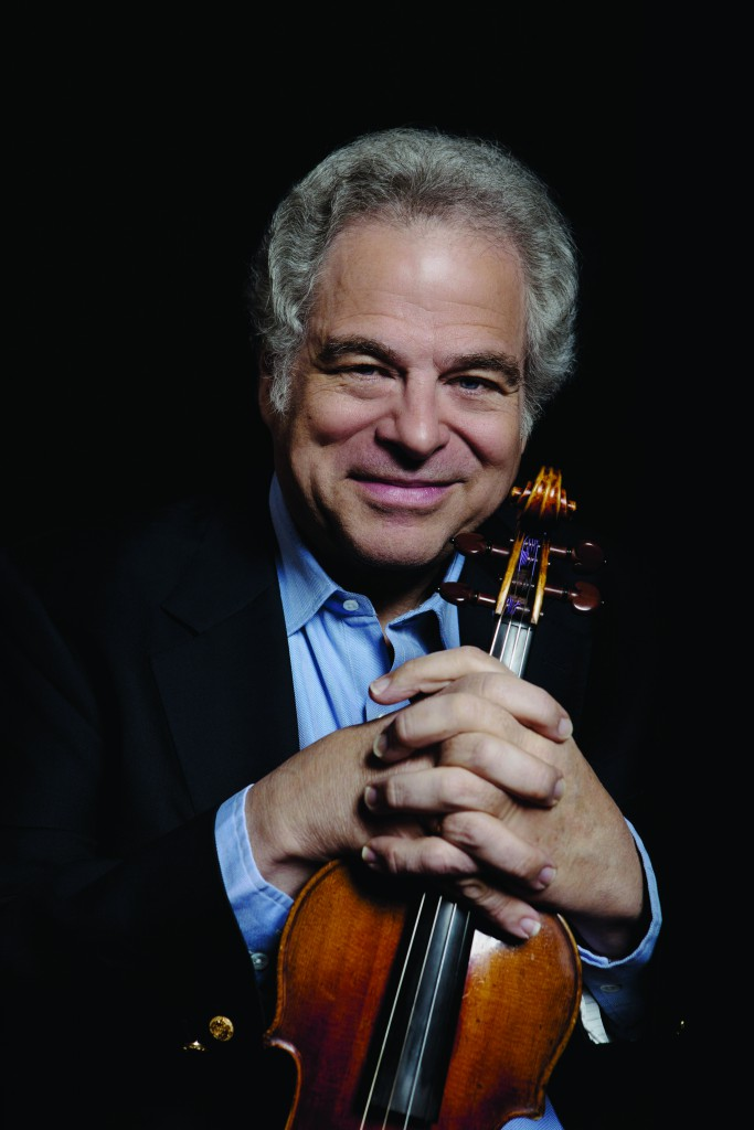 Itzhak Perlman. Photo by Lisa Marie Mazzucco.