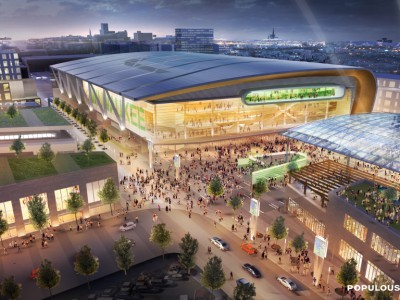 "Ald. Bauman's ""One Percent Solution"" to arena funding in committee on Monday"