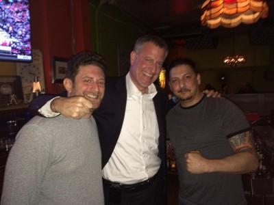 Plenty of Horne: De Blasio Descends on Milwaukee