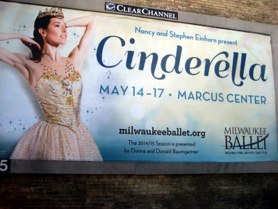 Nancy and Stephen Einhorn Present Cinderella May 14-17. Photo by Michael Horne.