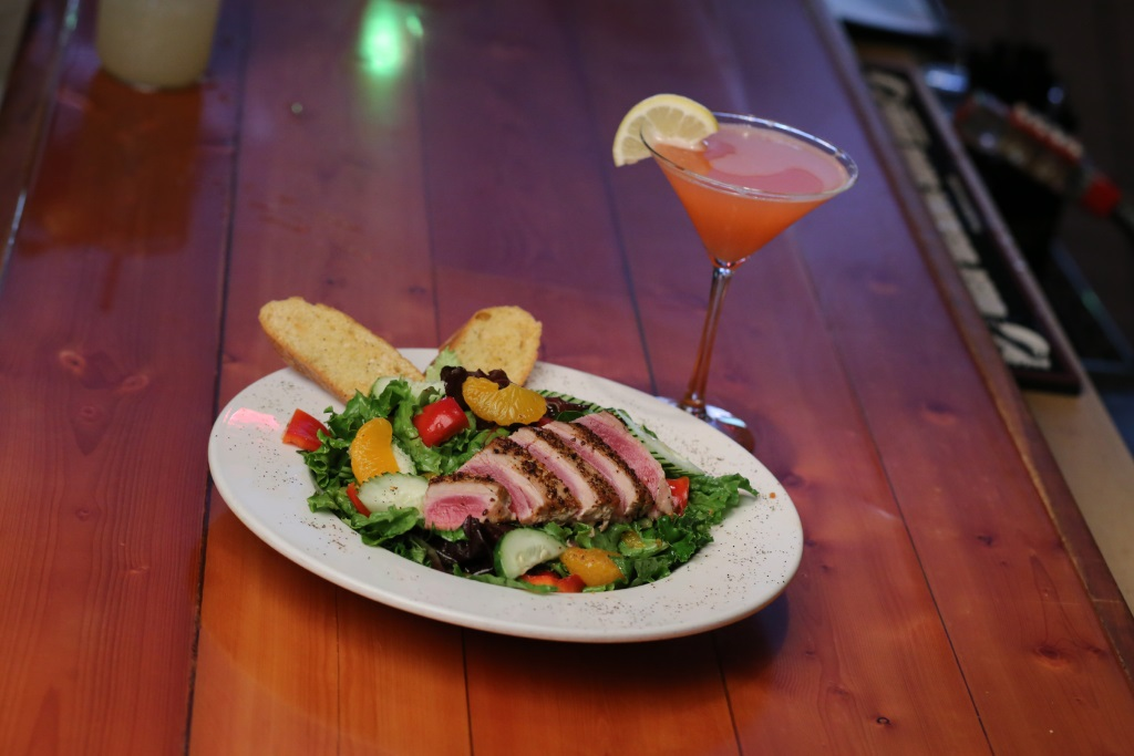 LuLu Cafe & Bar's Calypso Tuna Salad. Photo by Jim Moy.