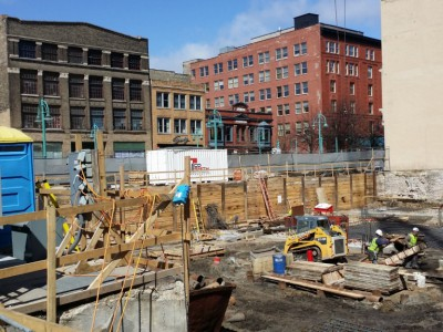 Friday Photos: Early Progress on Kimpton Hotel