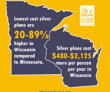 Report Reveals Wisconsin Health Insurance Rates Still Dramatically Higher than Minnesota's