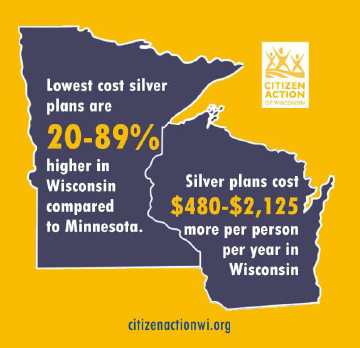 Tale of Two States 2015 Report: Why Wisconsin's Health Insurance Costs Are Dramatically Higher Than Minnesota's.