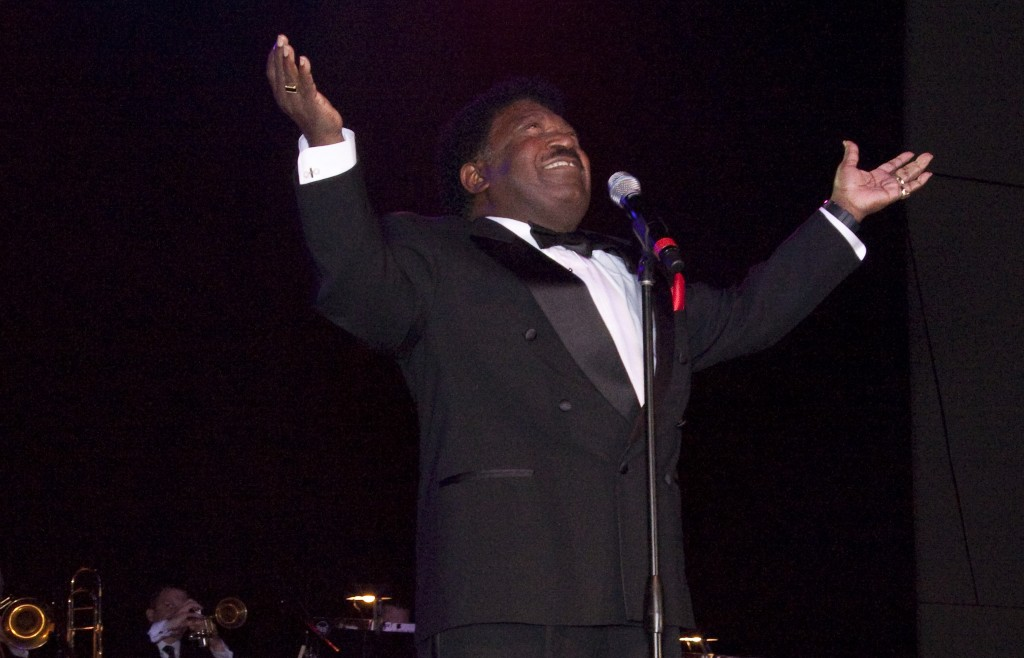 Percy Sledge at the Alabama Music Hall of Fame Concert.Photo  by Carol M. Highsmith Licensed under Public Domain via Wikimedia Commons.