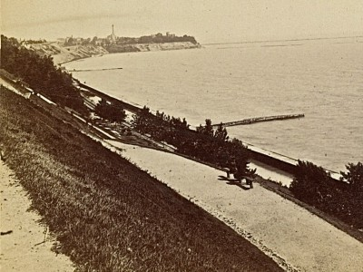 Yesterday's Milwaukee: Lakefront Looking North, 1880s