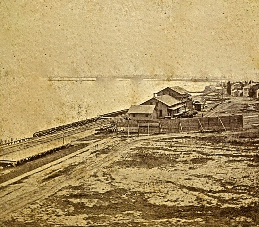 Lakefront, 1870s. Image courtesy of Jeff Beutner.