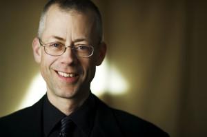 Scott Metcalfe, Director of Blue Heron Choir - photo by Liz Linder