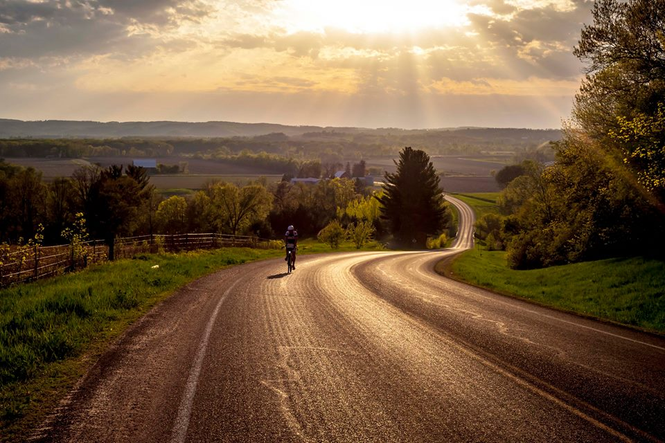Why we ride in Wisconsin. Photo by Julian Kegel.