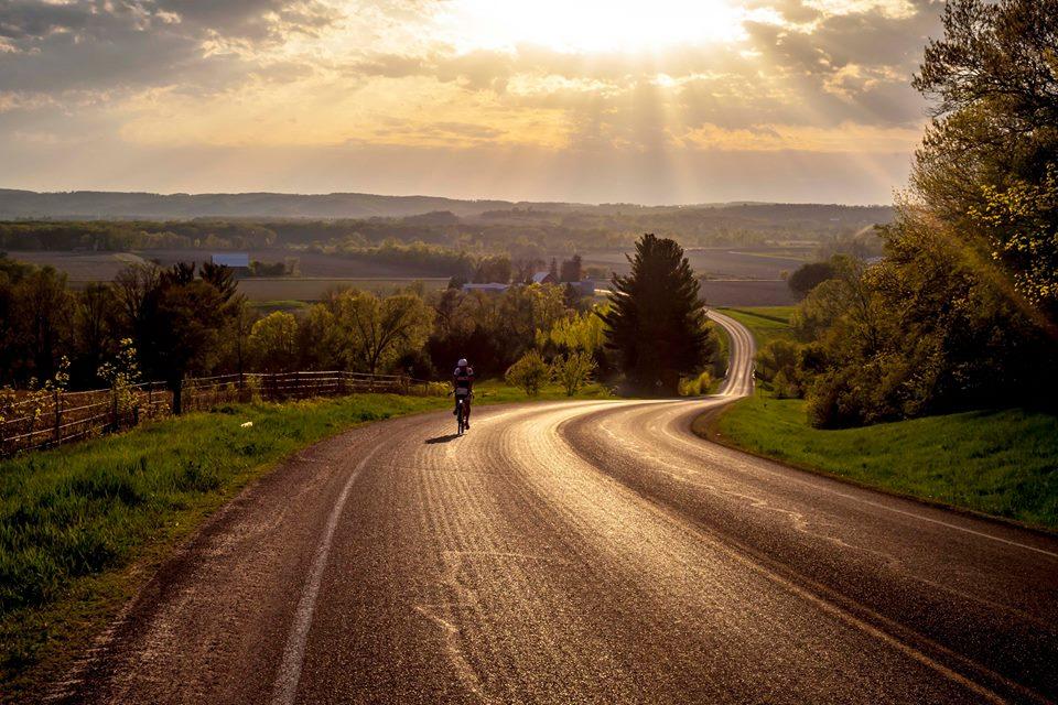 Why we ride in Wisconsin. Photo by Julian Kegel.