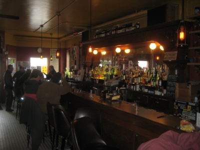 The bar. Photo by Michael Horne.
