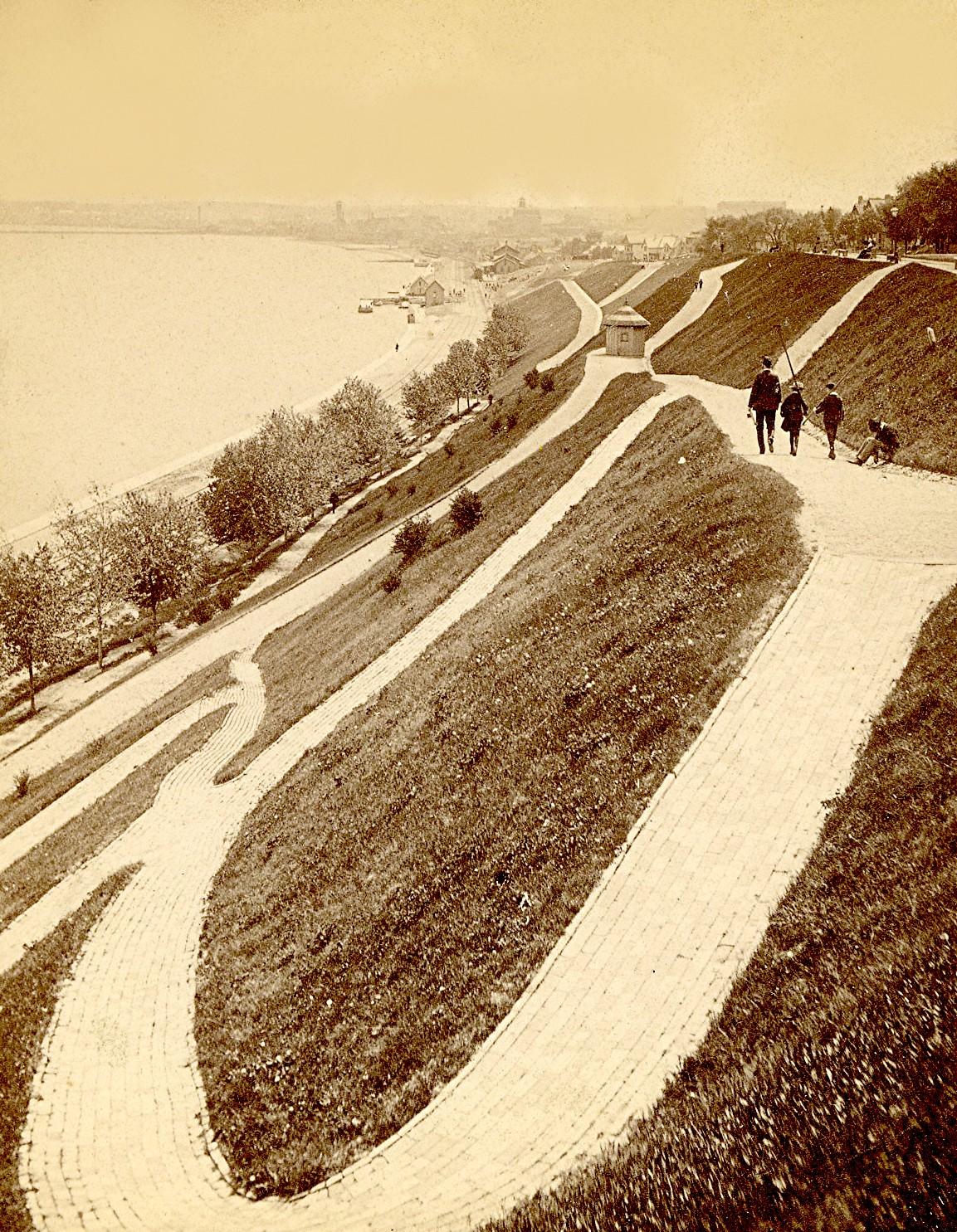 Juneau Park, late 1880s