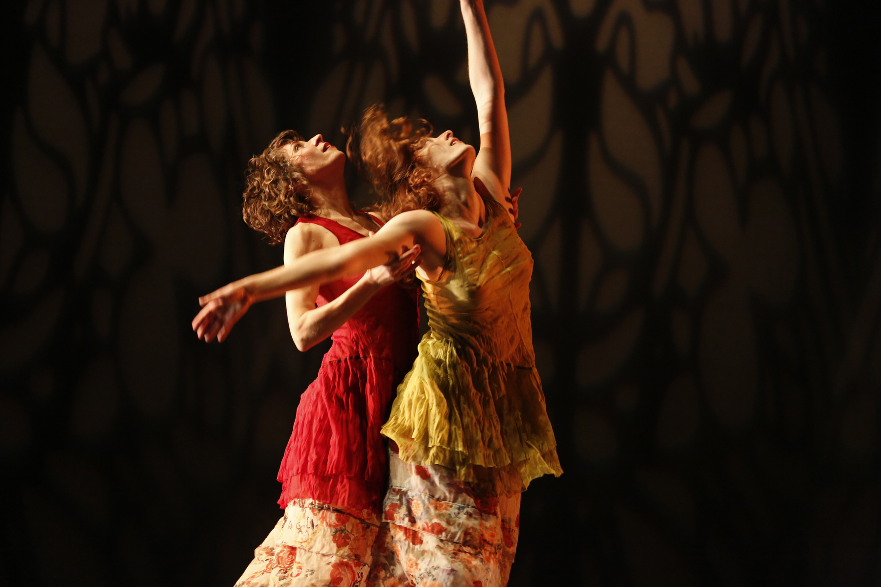 Stephanie Nugent and Suzanne Lappas in Katherinette by Selene Carter. Photo by Jeremy Hogan.