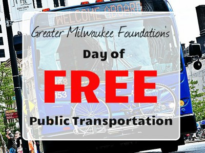 The Greater Milwaukee Foundation Offers Free MCTS Rides for EVERYONE on April 28th