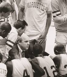 Rick Majerus. Photo courtesy of Marquette University.