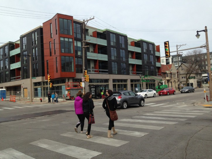 Friday Photos: 1800 E. North Ave. Arises From the Ashes