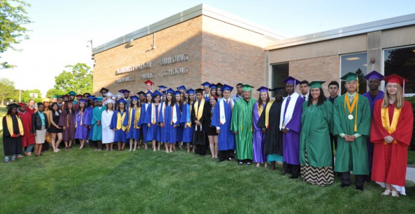 Valedictorians and salutatorians from the MPS Class of 2014 - The MPS top grads went on to Columbia U., MSOE, Marquette, NYU, U.S. Naval Academy, UW-Madison, UW-Milwaukee, Vassar and more.