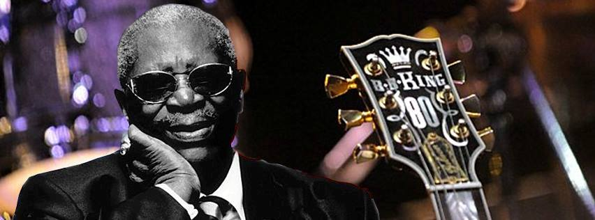 B.B. King. Photo from Facebook.
