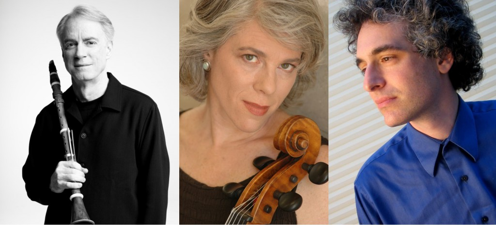 Clarintetist Eric Hoeprich, Cellist Tanya Tomkins, Pianist Eric Zivian