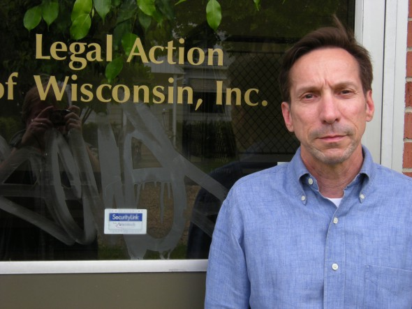 "Hal Menendez, of Legal Action in Wisconsin, says overpayments to FoodShare recipients once treated as error are now often ""being looked at as fraud or an intentional program violation."" Photo from Isthmus Publishing Co."
