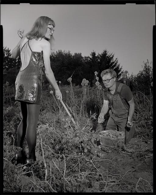 "J. Shimon & J. LIndemann: ""Digging Potatoes"""
