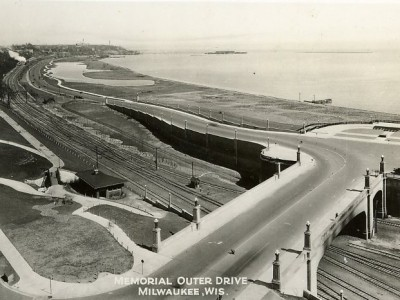 Yesterday's Milwaukee: Lakefront, Late 1920s
