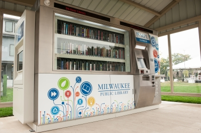 Milwaukee Public Library Express at Silver Spring. Photo courtesy of the city of Milwaukee.