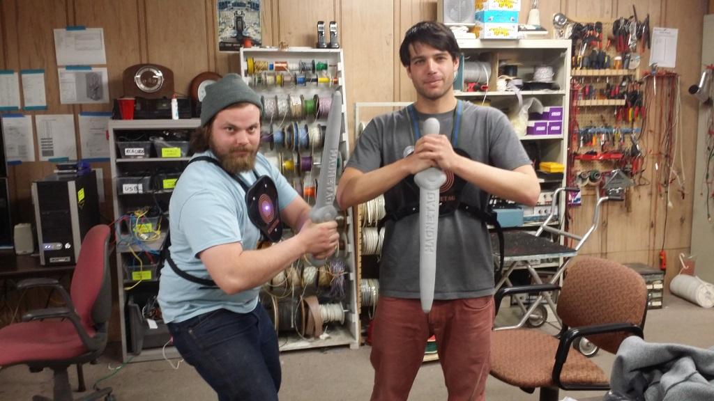 Jason Hilleshiem [l] and Adam Cohen [r].