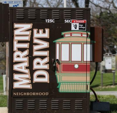 Martin Drive Gateway Identity Project. Photo courtesy of the city of Milwaukee.